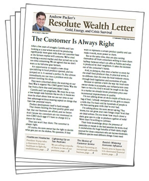 Resolute Wealth Letter